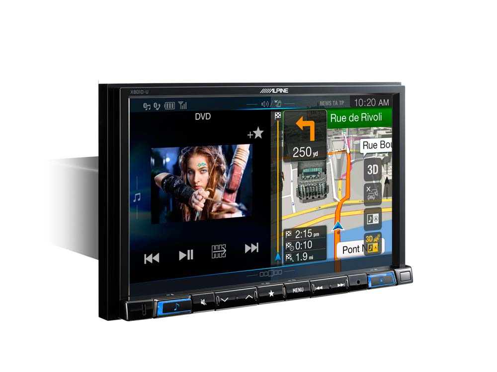 01 navigation 1din chassis 8 inch touch screen dvd 3d map x801d u
