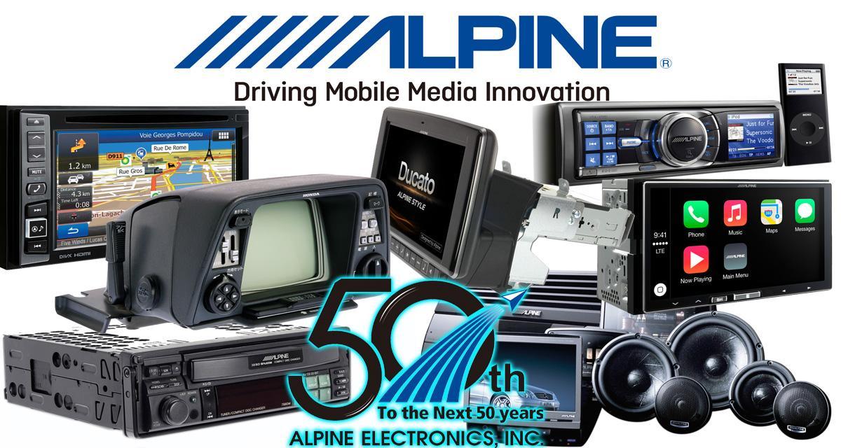 1200 l caraudiovideo alpine electronics 50eme anniversaire