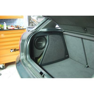 Caisson sur mesure pour Audi A3 8L pour sub 20cm