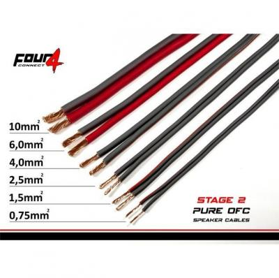 cable 2.5 mm² four connect x15 metre