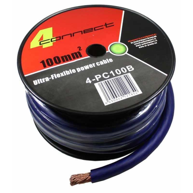 4 connect 100 mm bleu ultra flexible