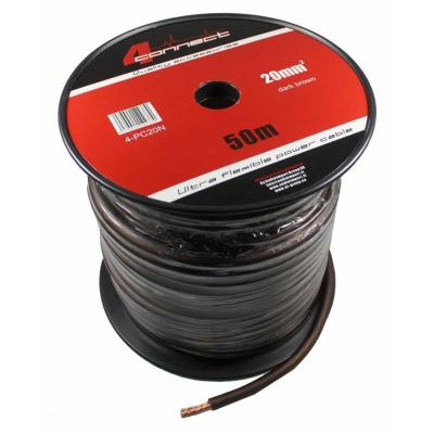 4 Connect 20 mm² Noir Ultra flexible