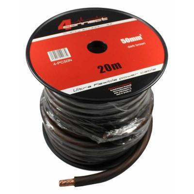 4 Connect 50 mm² Noir Ultra flexible