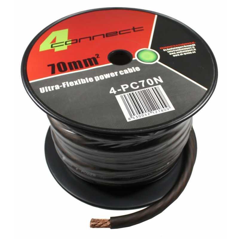 4 connect 70 mm noir ultra flexible