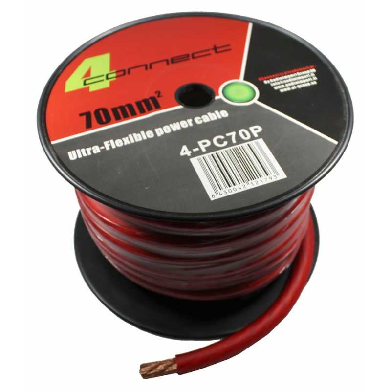 4 connect 70 mm rouge ultra flexible