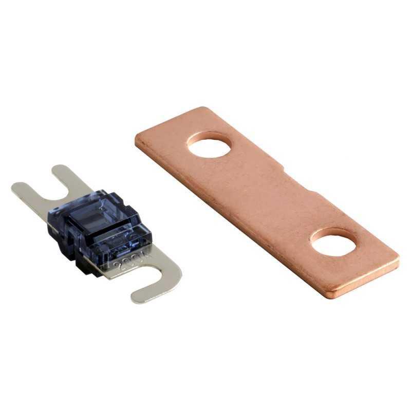 4 connect porte fusible anl cuivre stage 3 avec 2 fusible 200a 2