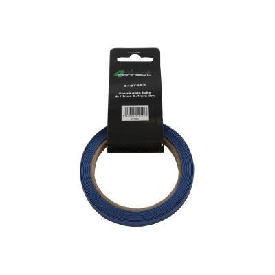 gaine rétractable , 2: 1 bleu 6,4 mm 3 m