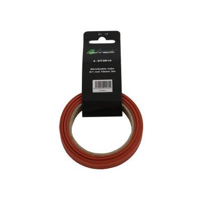gaine rétractable  2: 1 rouge 10mm 3m