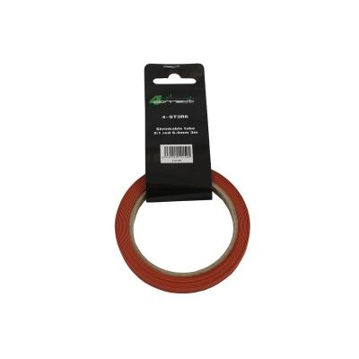 gaine rétractable  2: 1 rouge 6,4 mm 3 m