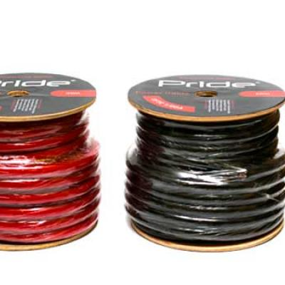 cable alimentation Power Cable 60,15 mm² rouge