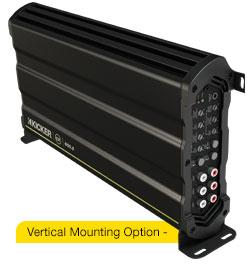 Cx amps vertical mounting