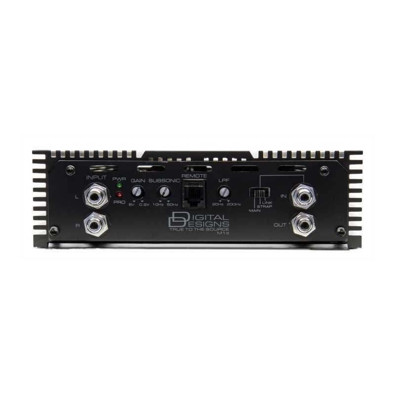 Dd audio m1d 1700 w rms 1 ohm 2
