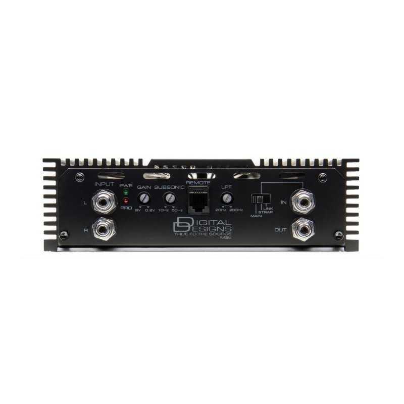 Dd audio m2c 2400 w rms 1 ohm 2