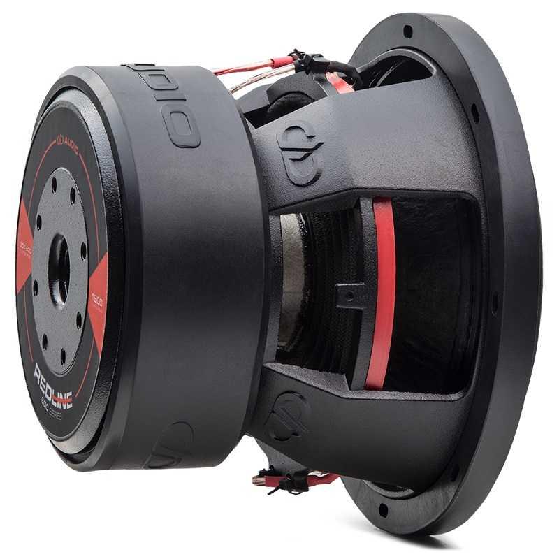Dd audio redline dd608d2 20 cm 600 wrms double 2 ohms