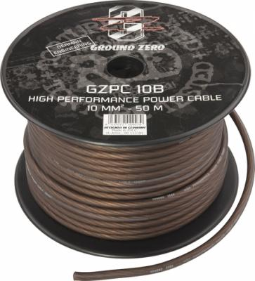 cable alimentation   10 mm2  noir GZ