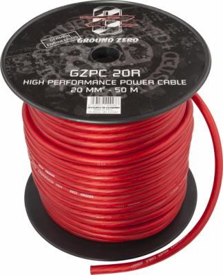 cable alimentation   20mm2 rouge GZ