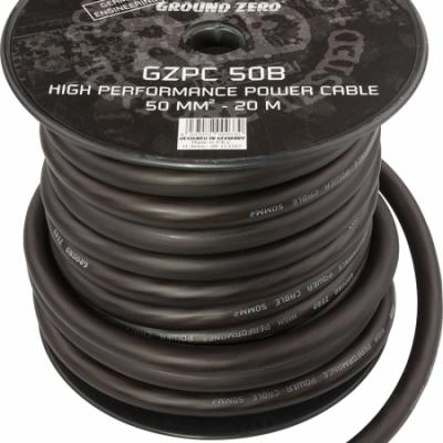 50mm par 20 Metre noir  GZ
