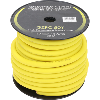 cable alimentation 50 mm2 GZ