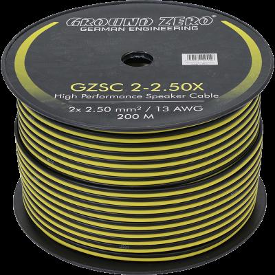 cable 2x2.5mm2 ground zero