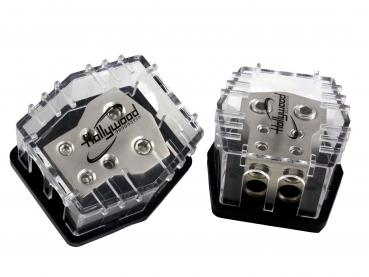 répartiteur  2X50 mm² et 4 X 21 mm²