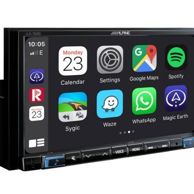 Ilx 702d apple carplay menu