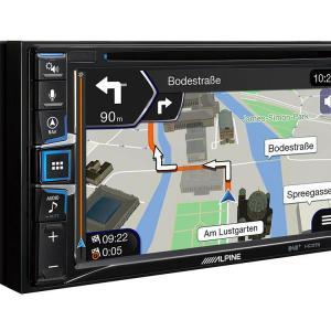Ine w611d built in navigation maps