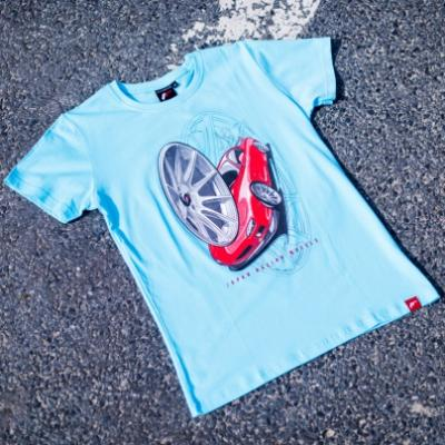 Jr men s t shirt jr 11 car turquoise size lm
