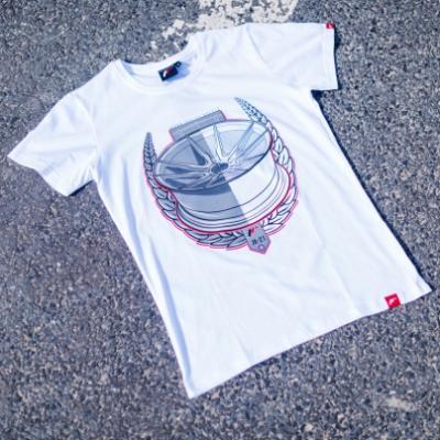 Jr men s t shirt jr 21 laurel white size lm