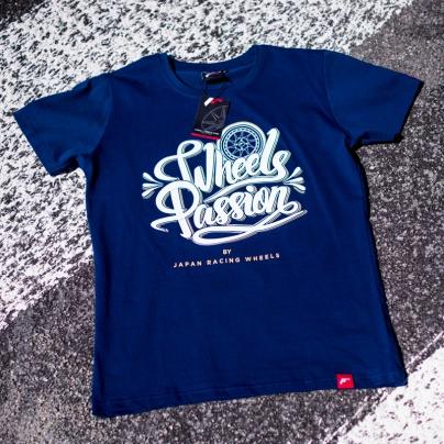 Jr men s t shirt passion navyblue size lm