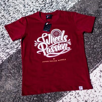 Jr men s t shirt passion rubyred size lm