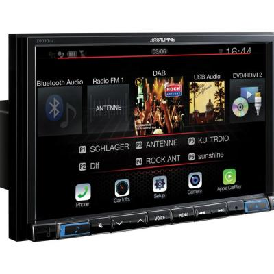 Navigation system x803dc u with dab radio bluetooth dvd