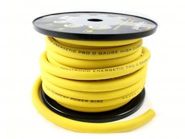 cable alimentation 53mm²  100% cuivre jaune