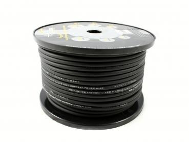 cable alimentation  9.6 mm² 100 % cuivre  noir