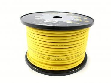 cable alimentation  9.6 mm² 100 % cuivre  jaune