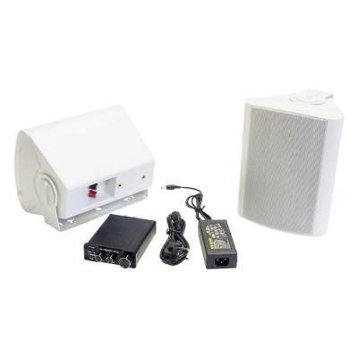 Amplificateur Bluetooth et haut-parleurs étanches