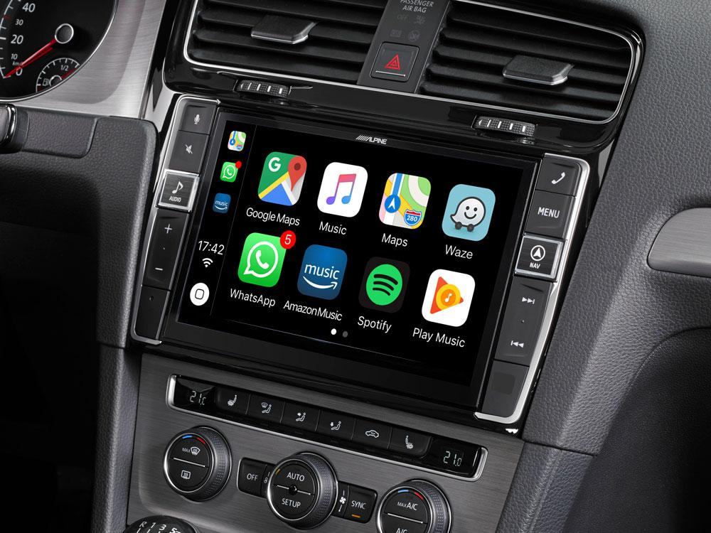Vw golf 7 navigation system x903d g7 with apple carplay