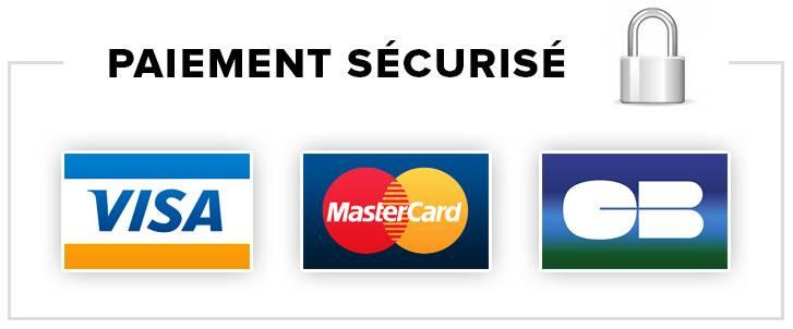 paiement securisé via carte bleu ou paypal